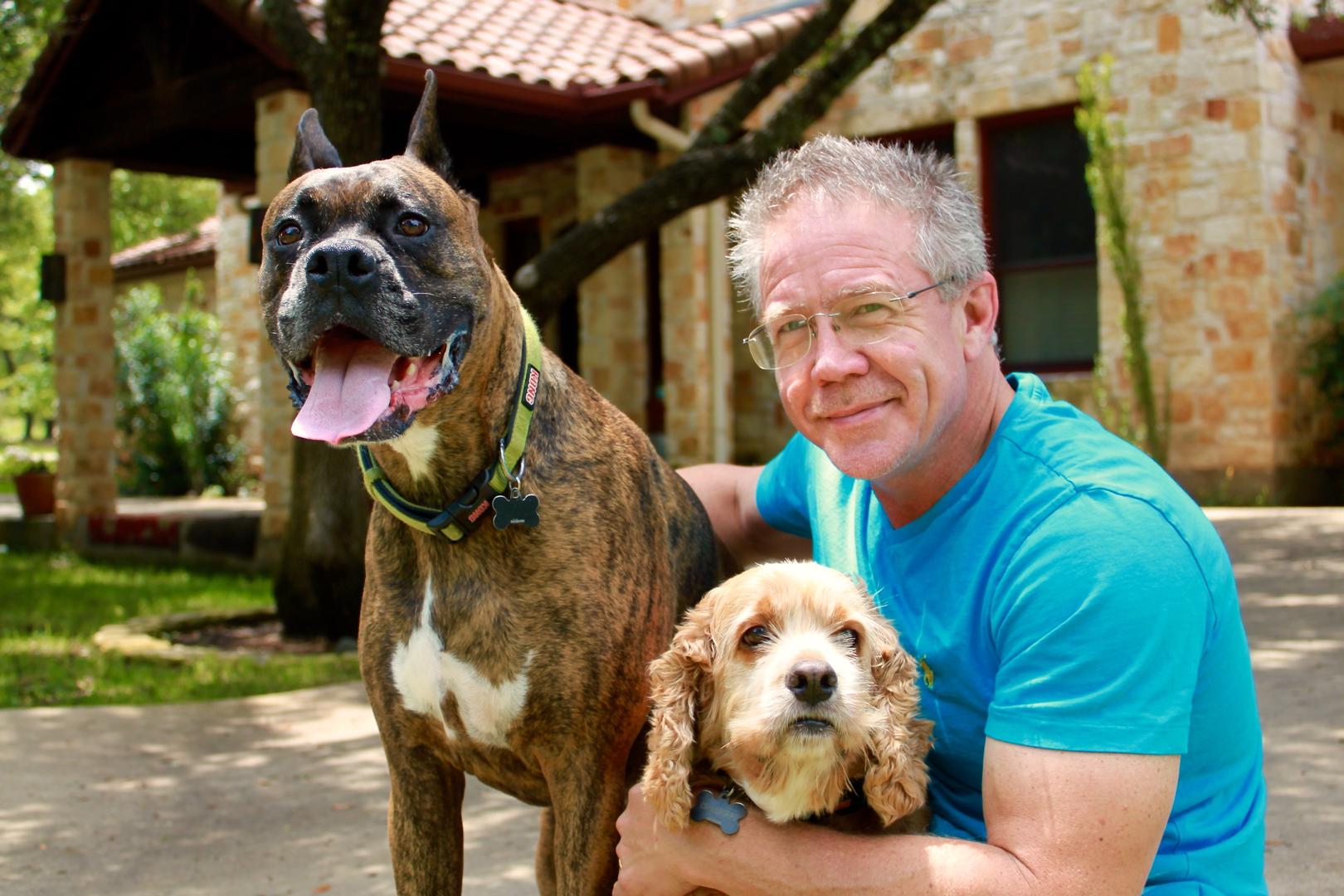 Dr-Bentley-with-his-Dogs
